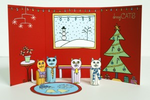 02-Made-by-Joel-Christmas-Holiday-Dressy-Cats-Kids-Craft-1